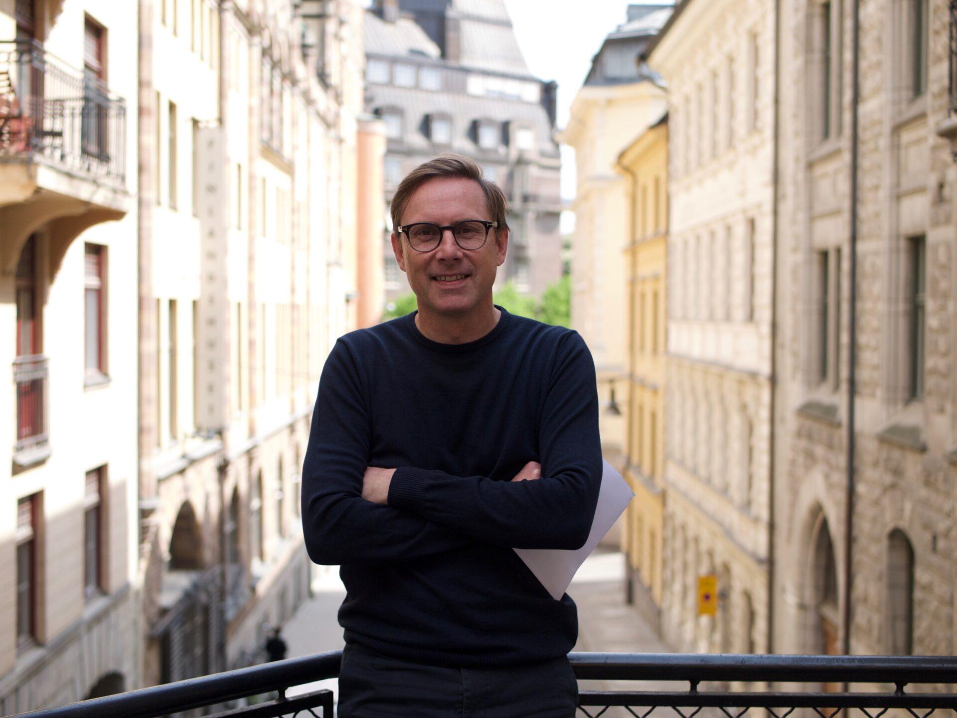 Jens Beck-Friis på ENKL