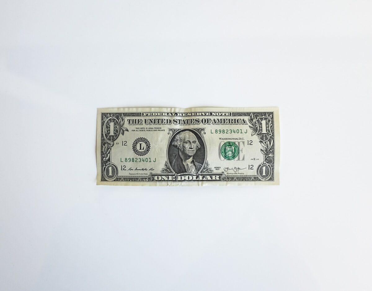 En dollar är inte mycket