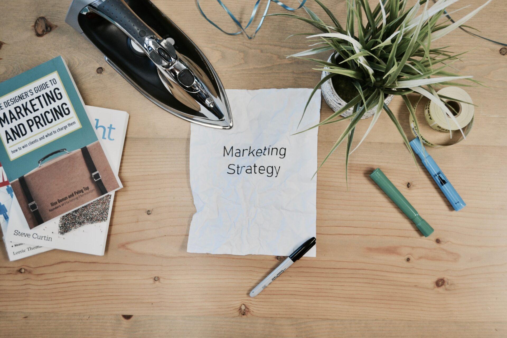 Du behöver en marknadsföringsstrategi